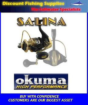 Okuma Salina High Performance Spin Reel - SA30