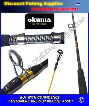 "Okuma Sensor Tip Plus 6'6"" 4-6kg 2pc Spin Rod"