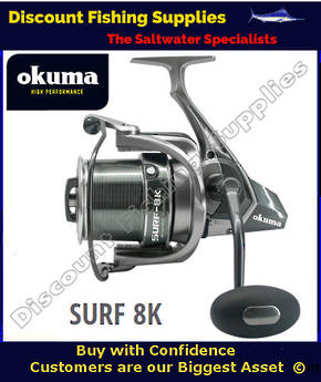Okuma Surf 8k Spinning Surf Reel (2018 NEW)