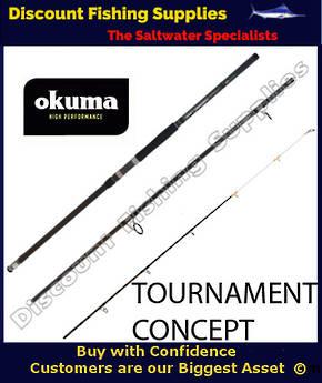 Okuma Tournament Concept Surf Rod 14' 3pc