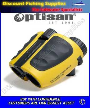 Optisan Waterproof Binoculars - 8 X 25