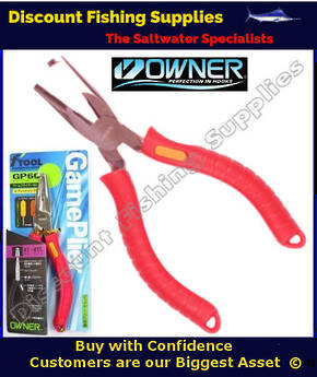 Owner GP60 Game Pliers - Split Ring Pliers