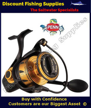 Penn VI Series Spinfisher SSVI 8500