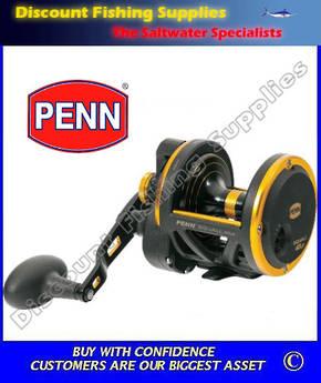 Penn Squall 40LD Lever Drag Overhead Reel
