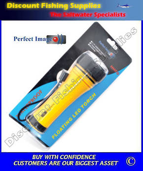 Perfect Image Floating Led Torch 2 X AA Batteries (Included)