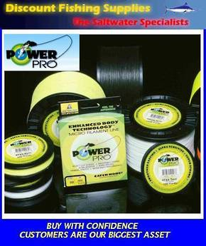 Power Pro Braid 50LB X 3000YDS Hi-Vis YELLOW
