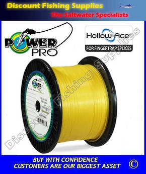 Power Pro Hollow Ace Braid 130lb X 1500yd Hi-Vis Yellow