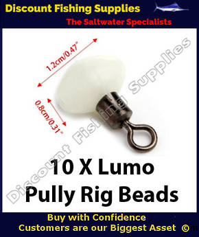 Pully Rig Swivel Beads Lumo 12mm