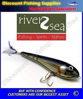 River2Sea Wideglide Subsurface Popper - 200mm - Cisco