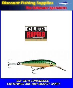 "Rapala CD Sinking Magnum - 9"" CD-22 Green Mackerel"