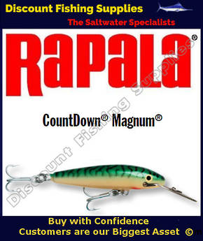 "Rapala CD14 Sinking Magnum - 5&1/2"" Green Mackerel"