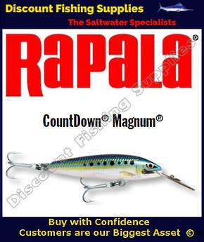 "Rapala CD18 Sinking Magnum - 7"" Sardine"