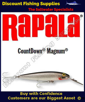 "Rapala CD18 Sinking Magnum - 7"" Silver"