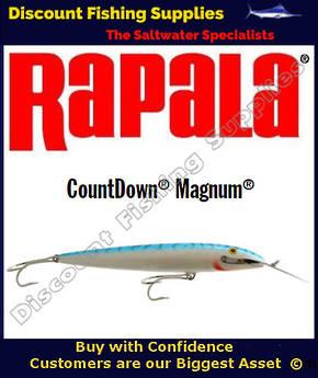 "Rapala CD22 Sinking Magnum - 9"" Silver Mackerel"