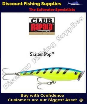 "Rapala Saltwater Skitter Pop 4-3/4"" BCSK"
