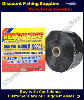 Rescue Tape (Self Amalgamating) Black 25mm X 3.6m