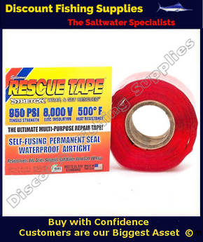 Rescue Tape (Self Amalgamating) Red 25mm X  3.6m