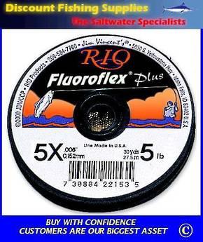 Rio Fluoroflex Plus Tippet 30yd 4X 7lb