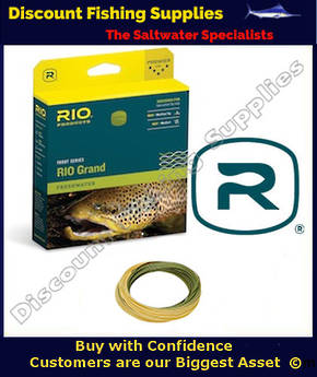 Rio Grand Floating Fly Line - WF8F