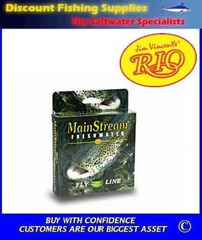 Rio Mainstream Intermediate Fly Line - WF6I Clear