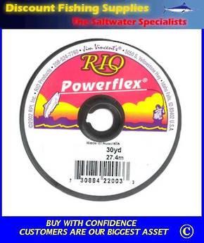Rio Powerflex Tippet 30yd 4X 6.4lb