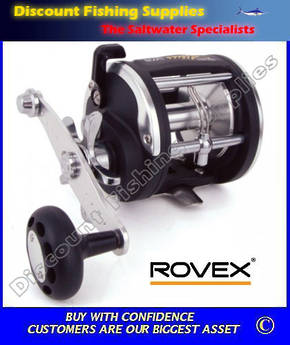 Rovex Altus LW30 Level Wind Reel