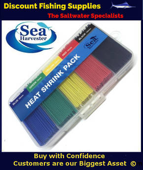 Sea Harvester Heat Shrink Pack - Assorted Sizes