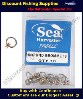 Sea Harvester RING and GROMMETS - 10 Pack
