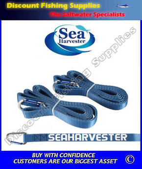 Sea Harvester Rod Safety Straps (Pair)