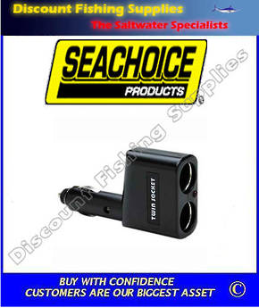 SEACHOICE DUAL POWER OUTLET