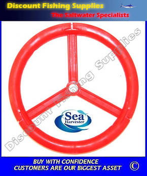 "SeaHarvester Leader wheel - Large 6 1/2"" (X 2 Wheels)"