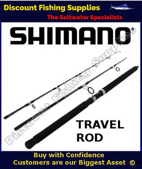"Shimano Backbone Elite Travel Spin Rod 10-15kg 7'6"" - 3pc"