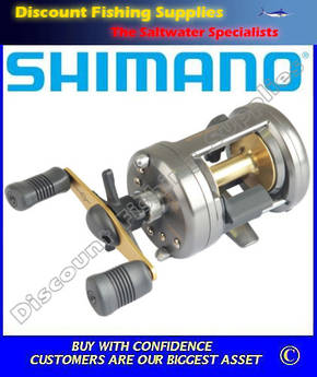 Shimano Corvalus 401 Left Hand Baitcast Reel