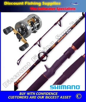 Shimano Corvalus 400 - Lucanus Slow Jigging Combo
