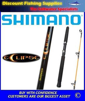 "Shimano Eclipse Trout Harling Rod 6'6"" 1pc"