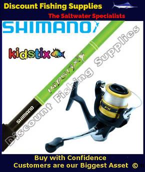Shimano KidStix / FX 4000 Kids Combo - Frog 5ft