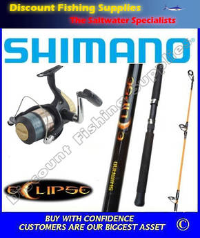Shimano Hyperloop 4000 - Eclipse Spin Combo 8-12kg