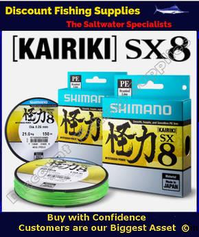 Shimano Kairiki SX8 Braid 50lb X 2700m Bulk Spool