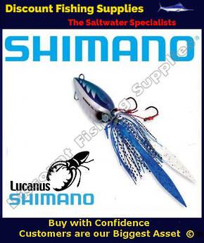 Shimano Lucanus Jig 60gm - Blue Silver