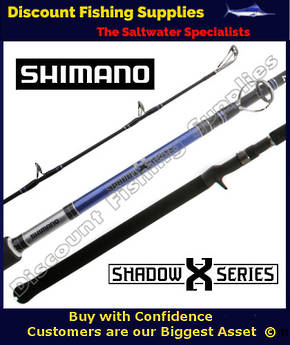 "Shimano Shadow X Nano Overhead Rod 10-15kg 6'3"""