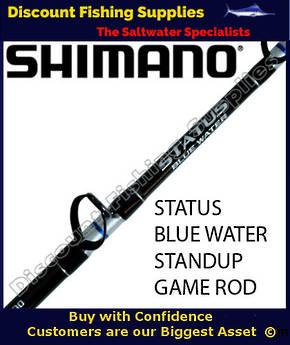 Shimano Status Bluewater 37kg Standup Game Rod