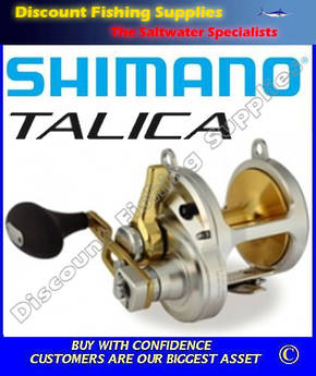 Shimano Talica 25II 2 speed Reel