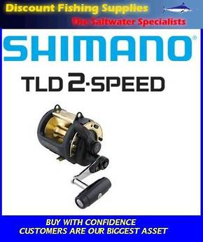 Shimano TLD 30 2 Speed Trolling Reel