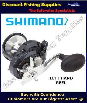 Shimano Torium 30HGA High Speed Reel - LEFT HANDED
