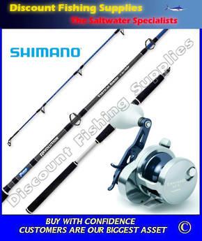 Shimano Trinidad 12A - T-Curve Revolution Jigging Combo 200gr