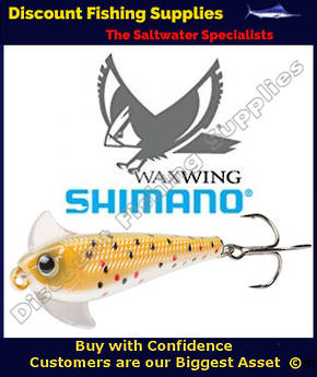 Shimano Waxwing Freshwater Trout Lure 48mm - Brown Trout