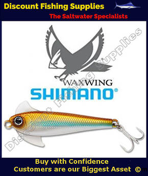 Shimano Waxwing Freshwater Trout Lure 48mm - Copper Blue Silver