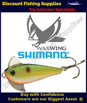 Shimano Waxwing Freshwater Trout Lure 48mm - Green Shad