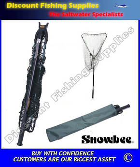 Snowbee Telescopic-Folding Landing Net S15010