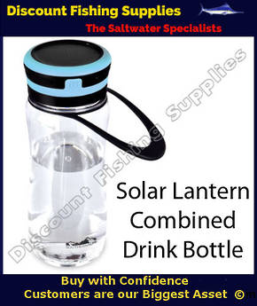 SOUTHERN ALPS RECHARGEABLE SOLAR LANTERN AND DRINKING BOTTLE